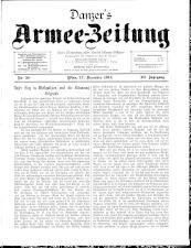 Danzers Armee-Zeitung 19141217 Seite: 1