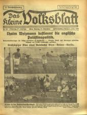 Das kleine Volksblatt 19381121 Seite: 1