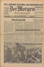 Der Morgen. Wiener Montagblatt