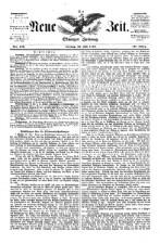 Die Neue Zeit: Olmüzer politische Zeitung