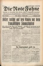 Die Rote Fahne 19311103 Seite: 1