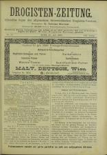 Drogisten Zeitung 18930720 Seite: 1