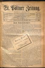St. Pöltner Bote  18921229 Seite: 1