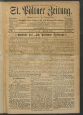 St. Pöltner Bote  18930101 Seite: 1