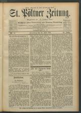 St. Pöltner Bote  18930716 Seite: 1