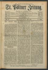 St. Pöltner Bote  18930727 Seite: 1