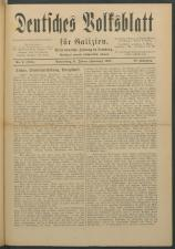 Deutsches Volksblatt für Galizien