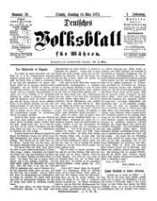 Deutsches Volksblatt für Mähren