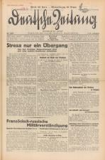 Deutsche Zeitung. Vereinigt mit der