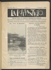 La esperantisto. Oficiala organo de Japana