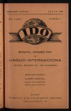 Ido: jurnalo por la propago ed exercado dil Internaciona Linguo