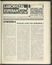 Laborista esperantisto
