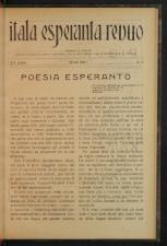 L'Esperanto Itala Esperanto Revuo 19270601 Seite: 3