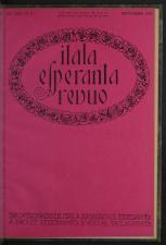 L'Esperanto Itala Esperanto Revuo 19270901 Seite: 1