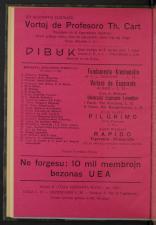 L'Esperanto Itala Esperanto Revuo 19270901 Seite: 2