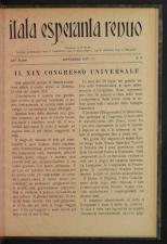 L'Esperanto Itala Esperanto Revuo 19270901 Seite: 3