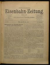 Oesterreichische Eisenbahn-Zeitung