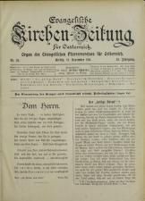 Evangelische Kirchen-Zeitung für Österreich