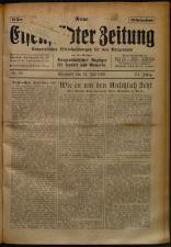 Neue Eisenstädter Zeitung 19250712 Seite: 1