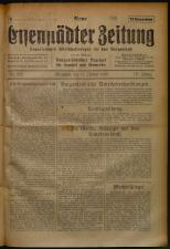 Neue Eisenstädter Zeitung 19251011 Seite: 1