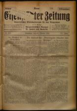 Neue Eisenstädter Zeitung 19251025 Seite: 1