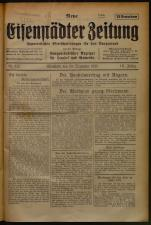 Neue Eisenstädter Zeitung 19251220 Seite: 1