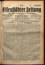 Neue Eisenstädter Zeitung 19290414 Seite: 1