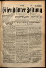 Neue Eisenstädter Zeitung 19290421 Seite: 1