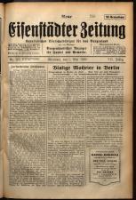 Neue Eisenstädter Zeitung 19290505 Seite: 1