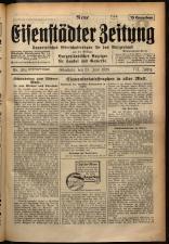 Neue Eisenstädter Zeitung 19290623 Seite: 1