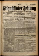 Neue Eisenstädter Zeitung 19290707 Seite: 1