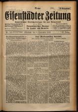 Neue Eisenstädter Zeitung 19290908 Seite: 1