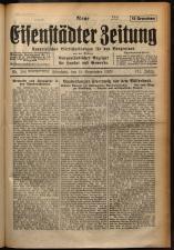 Neue Eisenstädter Zeitung 19290915 Seite: 1