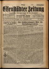 Neue Eisenstädter Zeitung 19291124 Seite: 1