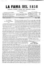 La Fama. Giornale di scienze, lettere, arti, industria e teatri