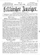 Feldkircher Anzeiger 18930103 Seite: 1
