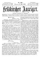 Feldkircher Anzeiger 18930321 Seite: 1