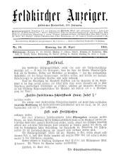 Feldkircher Anzeiger