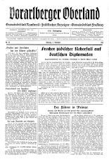 Feldkircher Anzeiger 19381108 Seite: 1
