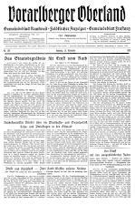 Feldkircher Anzeiger 19381119 Seite: 1