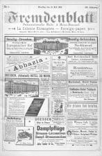 Fremdenblatt - Organ für die böhmischen Kurorte