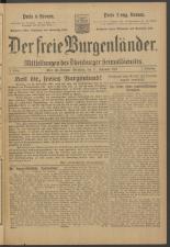 Der freie Burgenländer 19211117 Seite: 1