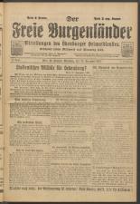 Der freie Burgenländer 19211123 Seite: 1