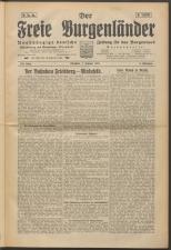 Der freie Burgenländer 19250201 Seite: 1