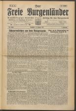 Der freie Burgenländer 19250215 Seite: 1