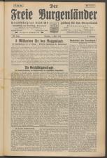Der freie Burgenländer 19250404 Seite: 1