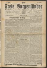 Der freie Burgenländer 19250621 Seite: 1