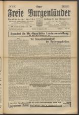 Der freie Burgenländer 19250920 Seite: 1