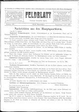 Feldblatt