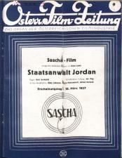 Österreichische Film-Zeitung 19270226 Seite: 1